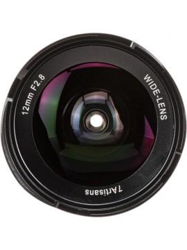 7artisans 12mm f/2.8 Lens for Fujifilm X (Black)