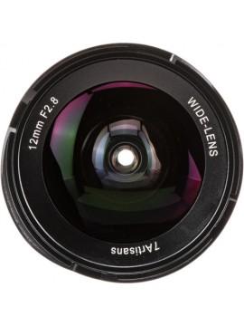 7artisans 12mm f2.8 Lens for M43 Panasonic Olympus (Black)