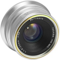 7artisans 25mm f/1.8 Lens for Fujifilm X (Silver)