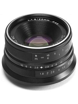 7artisans 25mm f/1.8 Lens for Fujifilm X (Black)