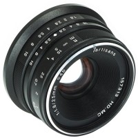 7artisans 25mm f/1.8 Lens for Sony E Mount (Black)