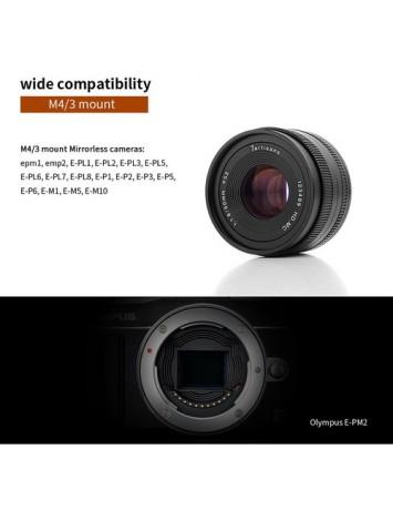 7artisans 50mm f1.8 Lens for M43 Panasonic Olympus