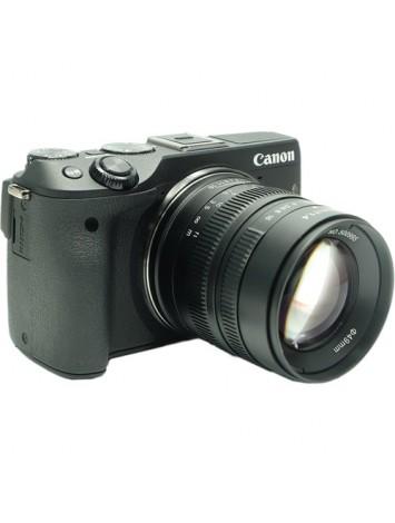 7artisans 55mm f/1.4 Lens for Canon EF-M (Black)