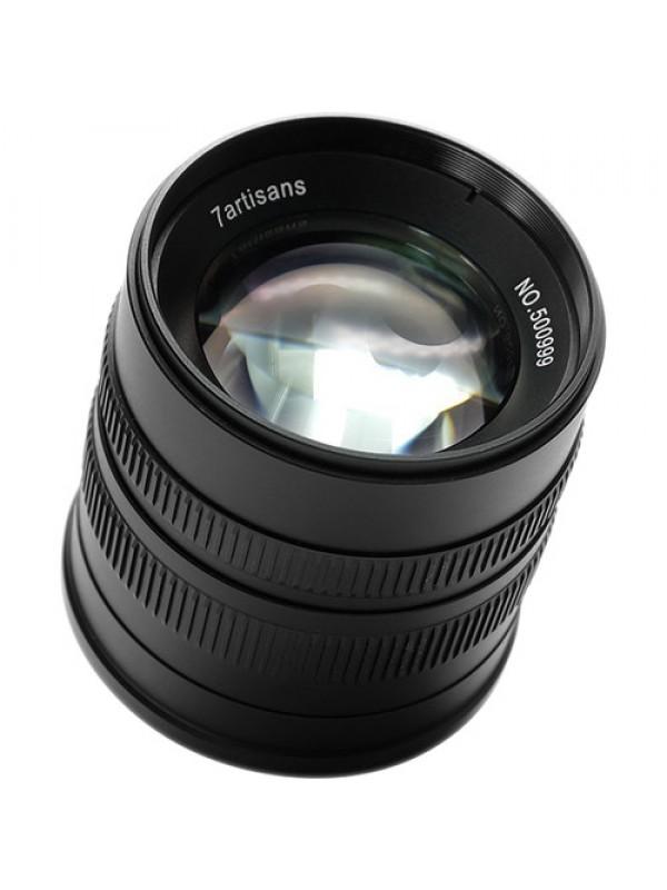 7artisans 55mm f/1.4 Lens for Fujifilm X (Black)