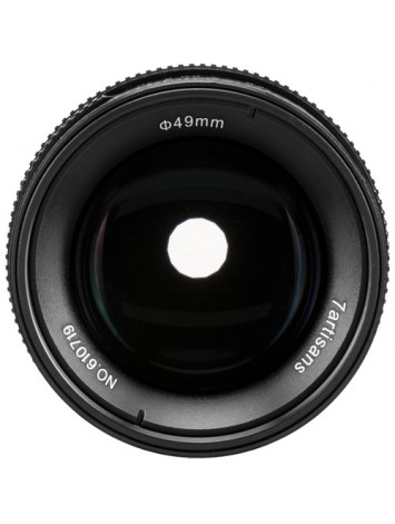 7artisans 55mm f1.4 Lens for M43 Panasonic Olympus (Black)