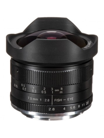 7artisans 7.5mm f/2.8 Fisheye Lens for Canon EF-M