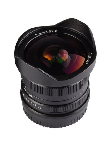 7artisans 7.5mm f/2.8 Fisheye Lens for Fujifilm X