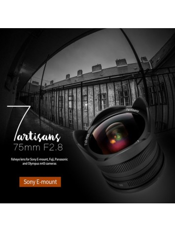 7artisans 7.5mm f/2.8 Fisheye Lens for Sony E Mount