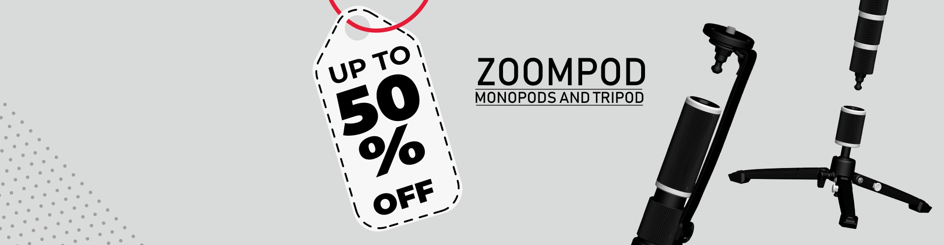 Zoompod upto 50% Off
