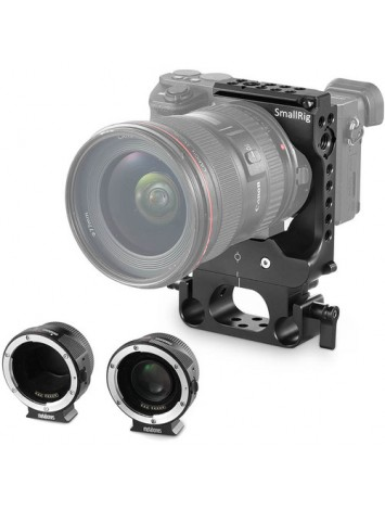 SmallRig 2033 Half Cage for Metabones EF-E Lens Adapter