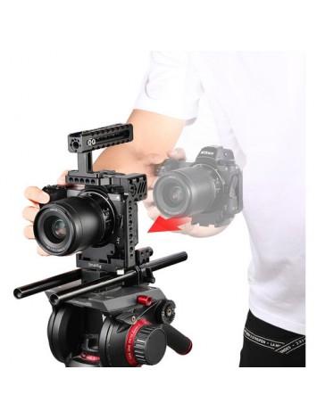SmallRig Quick Release Half Cage for Nikon Z6 and Z7 Cameras 2262